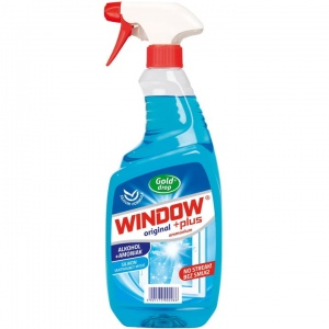 Płyn do mycia szyb Window Ammonium z pompką 750ml