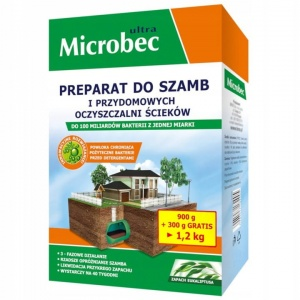 Bros Microbec ULTRA do szamb 1,2k eukaliptus 81363