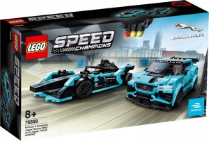 Lego Klocki Jaguar Racing GEN2 car + I-PACE 76898